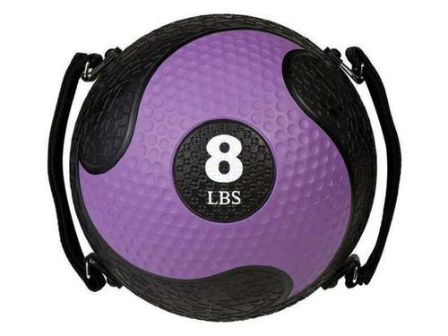 8 LB RHINO ULTRA GRIP MEDICINE BALL