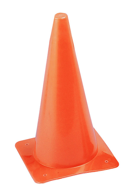 12 INCH HIGH VISIBILITY PLASTIC CONE ORANGE