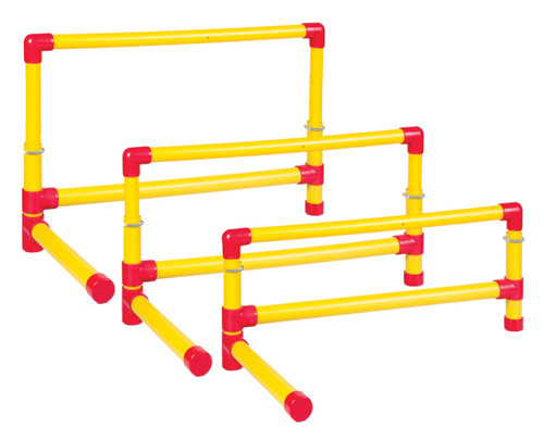 12-18 INCH ADJUSTABLE HURDLE SET