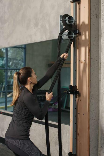 Exertools Activity Column Rope Trainer in Action