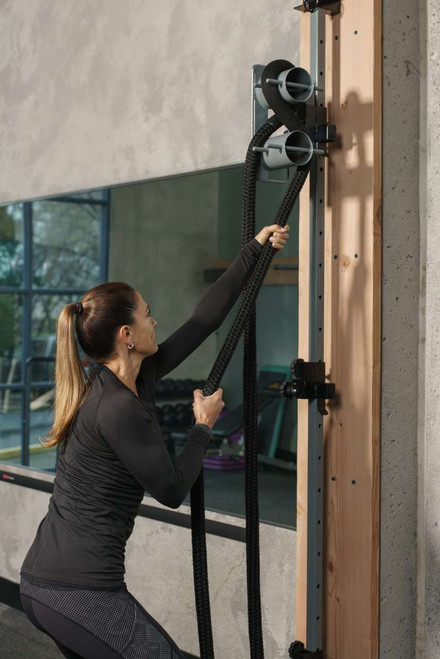 Exertools Activity Column Rope Trainer in Action
