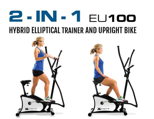 EU100 Hybrid Elliptical/Upright