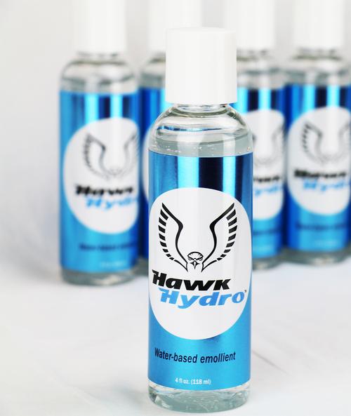 HawkHydro Emollient, 4oz bottle, 5 btl/cs