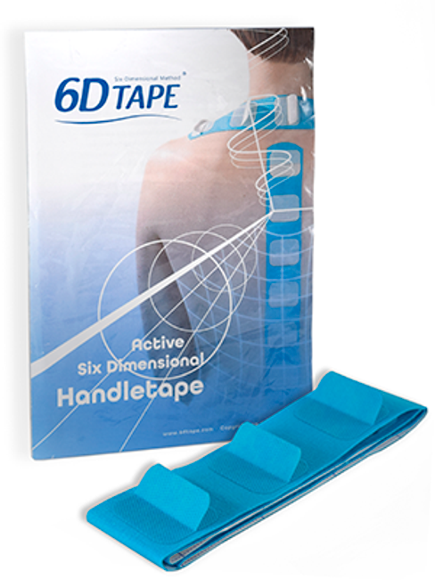 6D Tape – Active 6 Dimensional Handle Tape - 1 Meter Strip (With Instruction Manual)