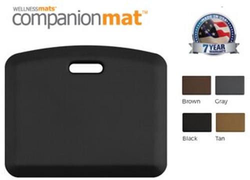 "CompanionMat (18' x  22' x 3/4"") BLACK"