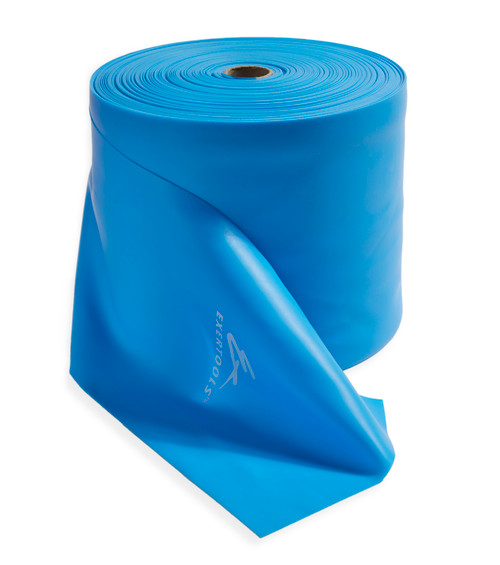 Exertools Resistance Band 50 Yard Roll - Latex Free - Heavy Resistance - Blue (EX50RBHY)
