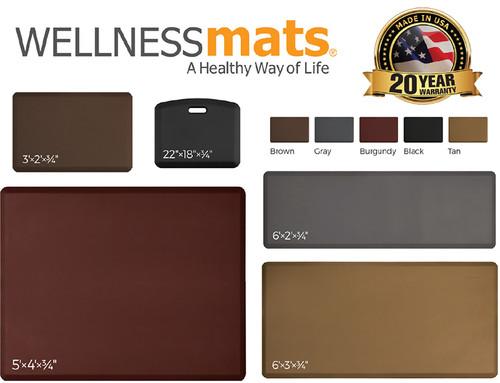 """Wellness Mat Original (5' x 4' x 3/4"""")"""