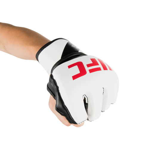 UFC 5oz MMA Gloves - L/XL - White (UFCMGLXL-W)