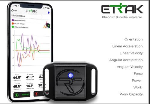 ETRAK Phoenix 1.0 Inertial Wearable