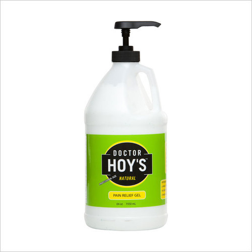 DOCTOR HOY'S NATURAL PAIN RELIEF GEL 64 OZ WITH PUMP (2006PR64)