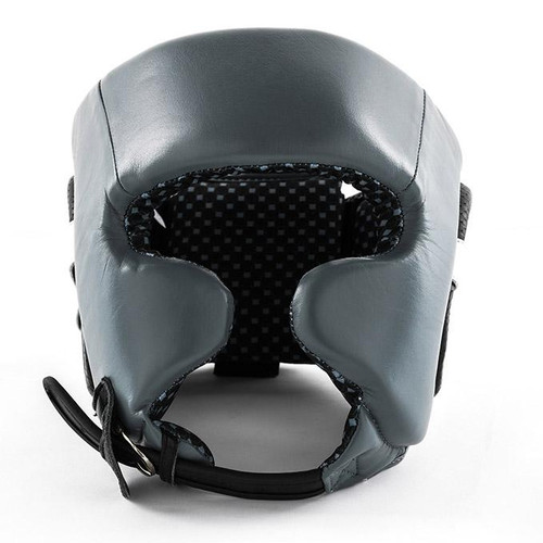 UFC Pro Leather Training Head Gear - Small - Gray (UFCPTHGS-GY)