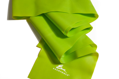 Single Flat Band -Medium Resistance -Lime Green