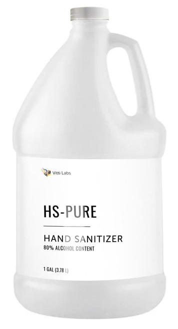 HAND SANITIZER 1 Gallon Case (4-pack)