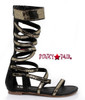 1031 Costume Shoes 015-Nile | Women Gladiator Cosplay Sandal