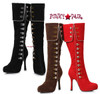 """420-Elda, 4""""  Knee High Boots with Buttons Costume Boots 