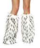 LW4473, Rave Fur Leg Warmers