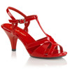 "Belle-322, 3"" Low Heel Evening Sandal"