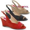 Pink Label | Kimberly-01SP Women Wedge Sandal Plus Size 9-16