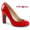 Pink Label | Queen-04 Queen Of Heels Plus Size 9-16  red