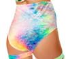 R-3447, Velvet High Waisted Shorts