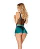 JV-FF829, Vinyl/Holo Denim Skirt