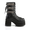 Ranger-305, 3.75 Inch Chunky Heel with Studds Ankle Boots