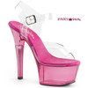 Aspire-608T, 6 Inch Ankle Strap with Tint Platform