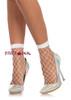 LA3043, Diamond Net Anklets
