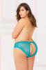 Plus Size Lace and Net Panty STM-10900X