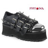 Gravedigger-03, 2.75 Inch Platform Oxford with Spikes
