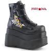 Demonia | Bear-105, 4.5 Inch Platform Ankle Boots