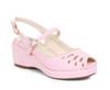 BP242-Faye, 2 Inch Peep Toe Wedge color pink