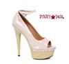 609-Valerie, 6 Inch High Heel Sandal with Wood Platform