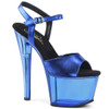 Blue Tinted Stripper Shoes by Pleaser Sky-309MT