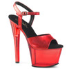 Sky-309MT Red Tinted Platform Shoes by Pleaser