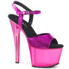Sky-309MT Fuchsia Tinted Platform Shoes by Pleaser