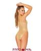 J Valentine | Fishnet Bodysuit Rave Wear JV-FF134 color gold back view