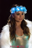 J Valentine | Light-up Flower Crown Rave Wear JV-FF203 Color Baby Blue