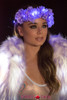 J Valentine | Light-up Flower Crown Rave Wear JV-FF203 Color Lavender