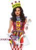 Leg Avenue | LA-86722, Card Queen Costume