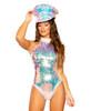 SEQUIN ROMPER Roma Costume R-3667