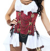 S9009 Fancy Women's Pirate Costume by Starline close up view
