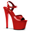 SKY-309, Exotic Dancer Shoes color Red