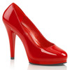 FLAIR-480, Platform Stiletto Heel Shoes Made By PLEASER Shoes red