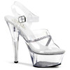 Clearance Shoes | KISS-208R, Ankle Strap Sandal with Rhinestones