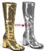 Bordello | SPECTACUL-300SQ Sequins GOGO BOOTS