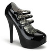 Bordello | TEEZE-05, Buckles Strap Platform Shoes
