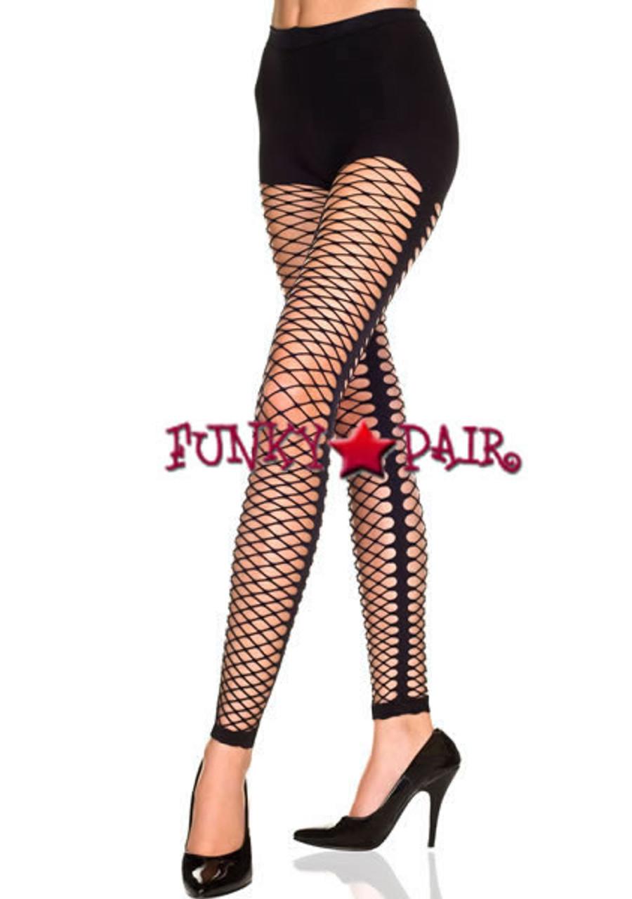 0078273a59a28c Women's FishNet Leggings | Music Legs ML-35242
