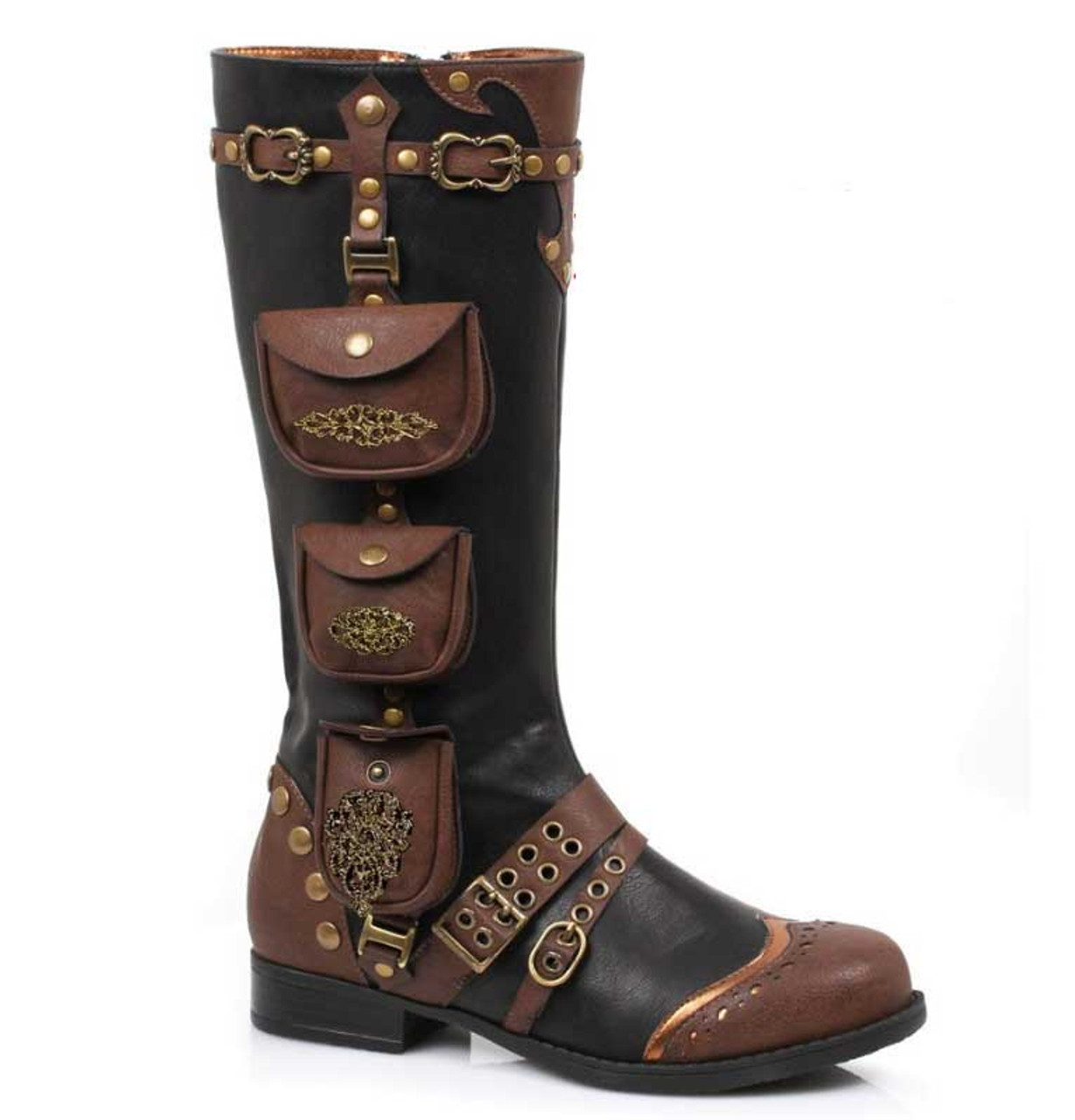 6993e0efa6da3 Ellie Shoes   181-SILAS, Women's Steampunk Boot