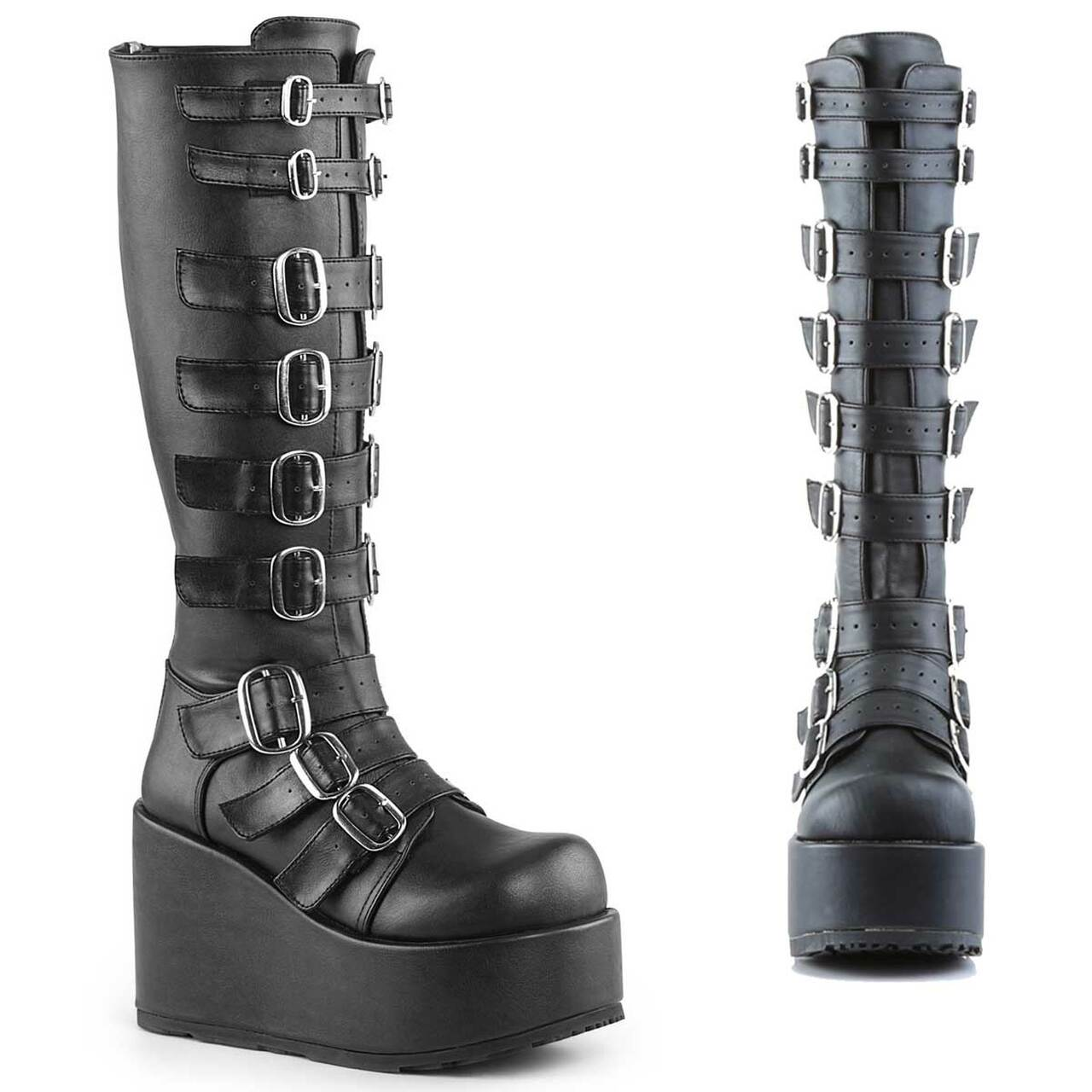 cheap for discount new york best price Demonia | Concord-108 Goth Punk Lolita Buckled Platform